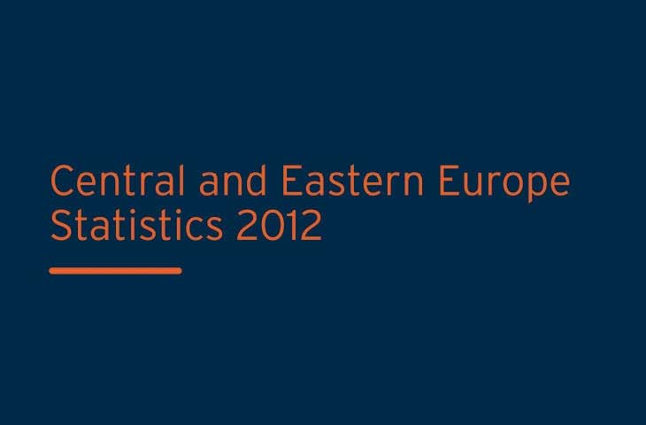 Central and Eastern Europe Statistics 2012 Image