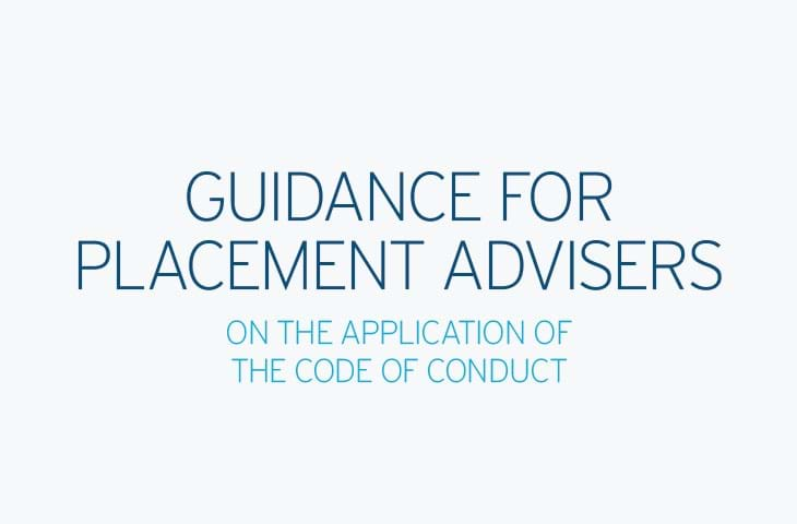 Guidance for Placement Advisers Image