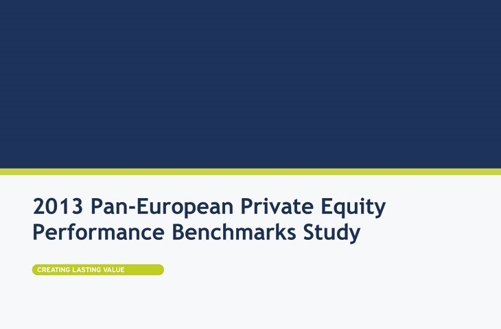 2013 Pan-European Private Equity Performance Benchmarks Study Image