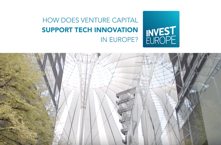 How does venture capital support tech innovation in Europe? Image
