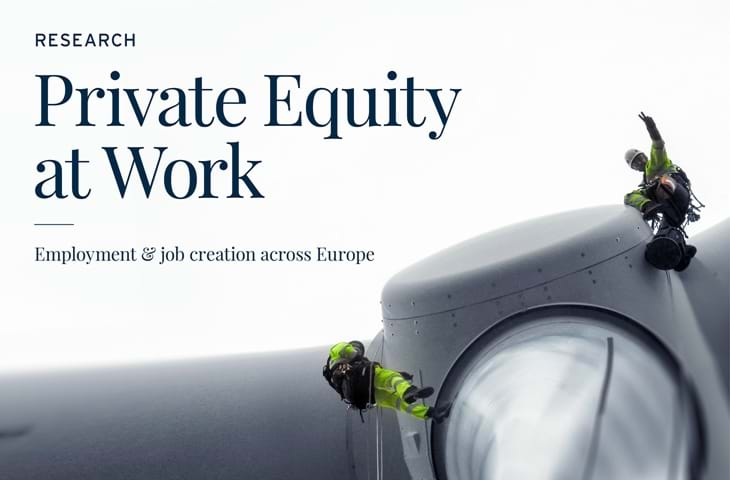 Supporting Europe's jobs - Private Equity at Work research report Image