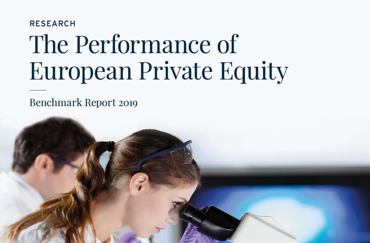 The Performance of European Private Equity Benchmark Report 2019 Image