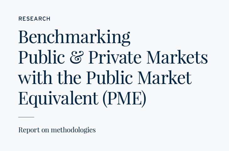 Benchmarking Public and Private Markets with the Public Market Equivalent (PME) Image