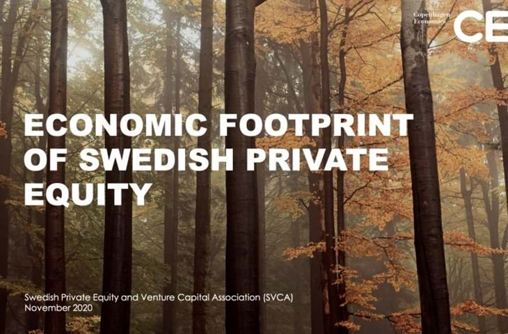 Economic footprint of Swedish private equity Logo